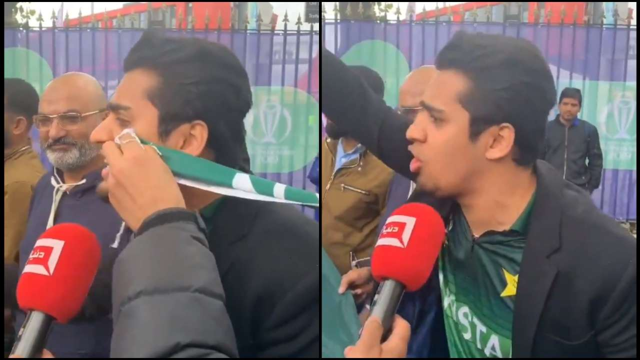 Angry Pakistani fan blames burger and pizza for defeat to India in World Cup