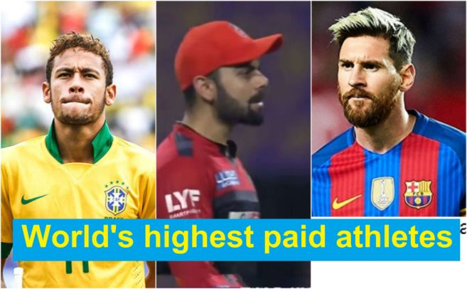 Virat Kohli only cricketer to feature in Forbes list of highest paid athletes, check out the full list