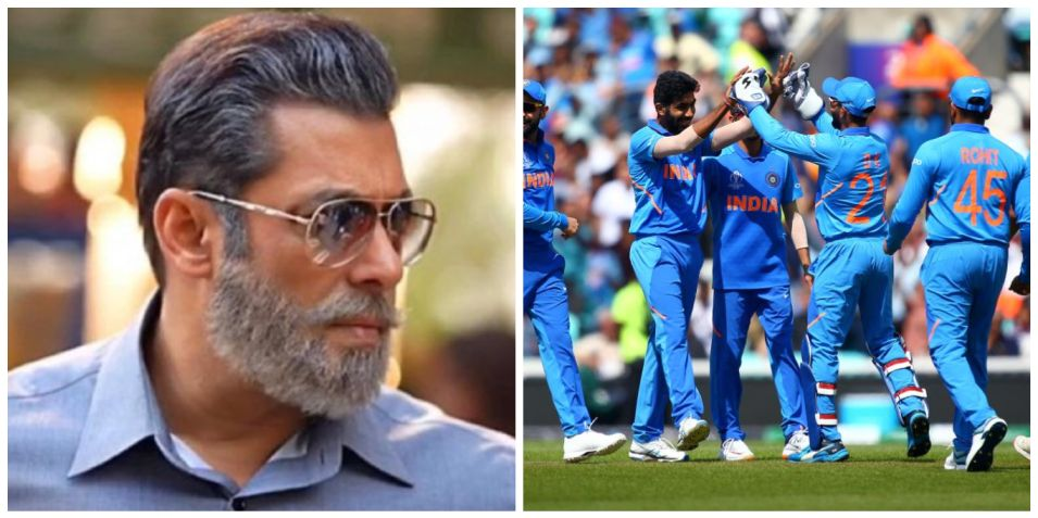 World Cup: Salman Khan sends his best wishes for Team India