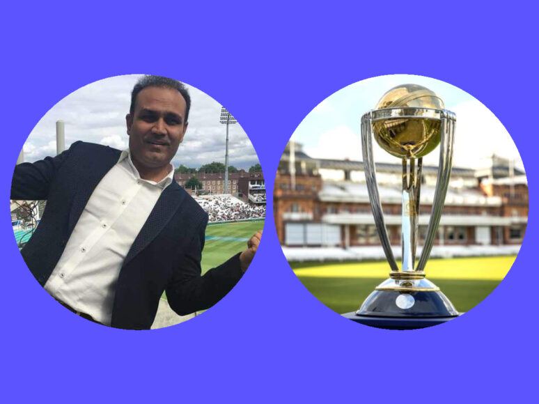 Virender Sehwag thinks India is not the favourite to win the World Cup, picks these two teams