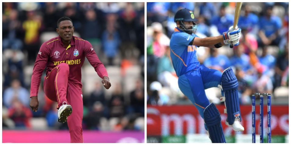 CWC 2019, India vs West Indies: Weather & pitch report, match timings, head to head, live streaming
