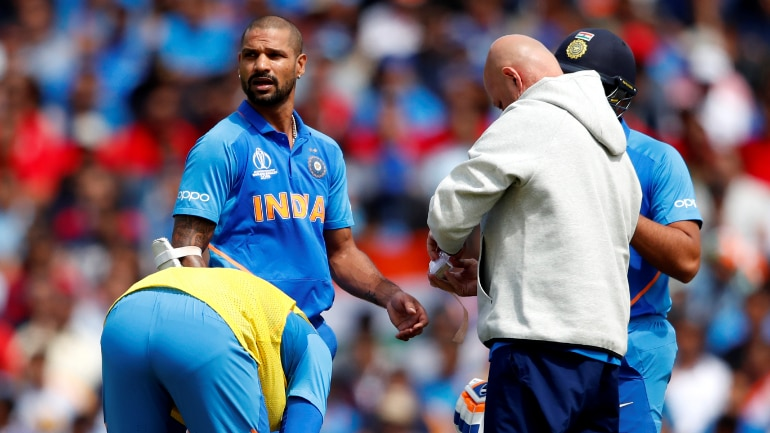 Shikhar Dhawan ruled out of the World Cup, replacement named