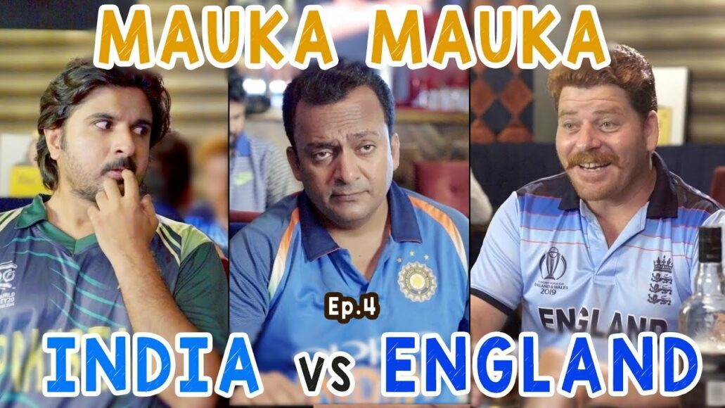 "New ""Mauka Mauka"" ad trolls Pakistan as they hope for India's victory against England"