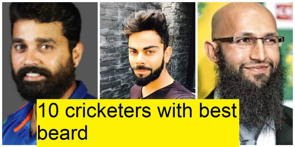 Top 10 modern cricketers with stylish and trendy beards