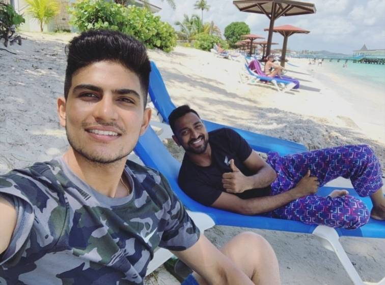 In pics: Team India members enjoy their off-time on the beaches of West Indies