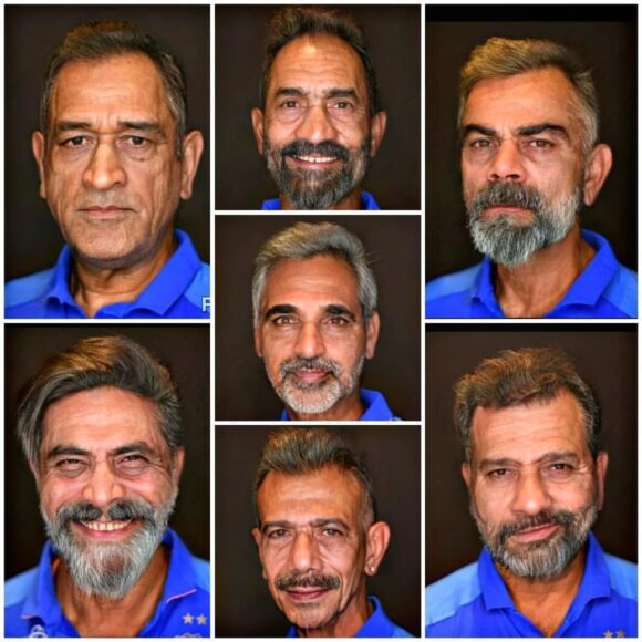 Faceapp: How will your favourite cricketer look when they will grow old