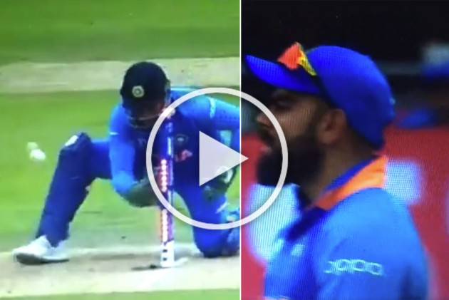 Video: Virat Kohli gets angry on MS Dhoni and abuses for the very first time after lapse in keeping