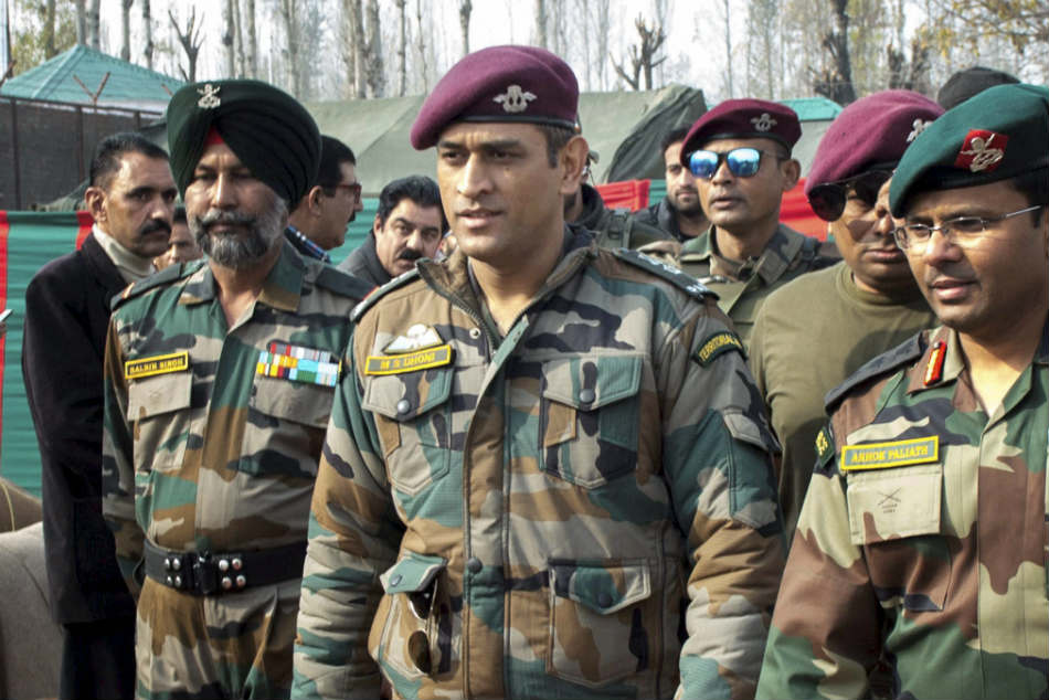 Lieutenant Colonel MS Dhoni to patrol in Kashmir from today, know his 15 day schedule in the valley