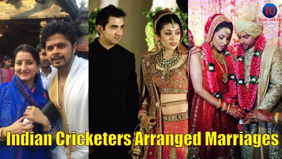 Top 7 Indian cricketers who had arranged marriages