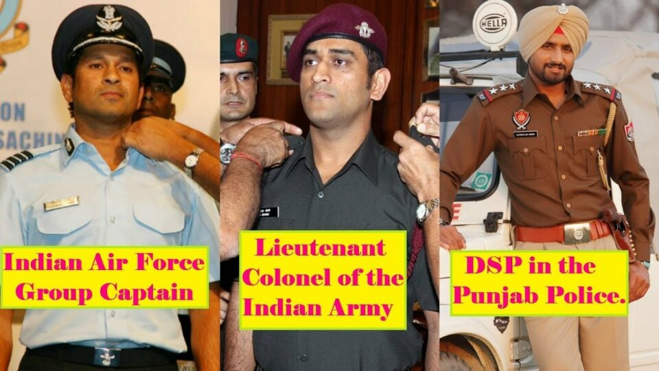 Top 7 Indian cricketers who also have government jobs
