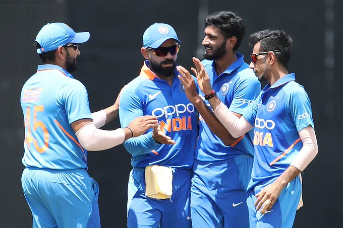 Indian squad for three match T20 series against South Africa 2019