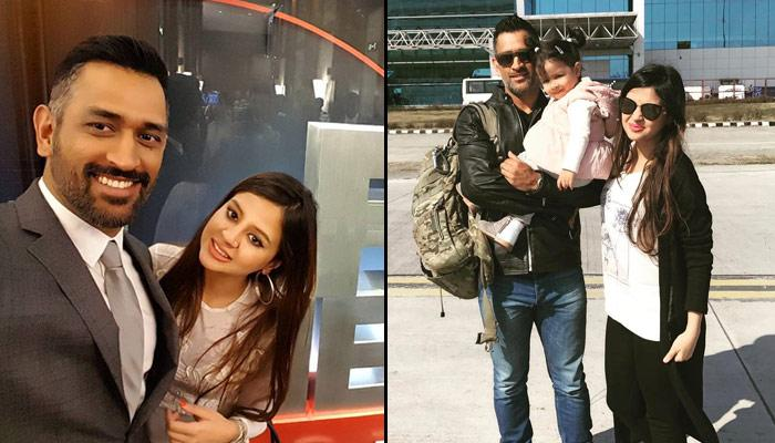 "A new guest arrives at MS Dhoni's home, wife Sakshi writes ""Miss u Mahi"""