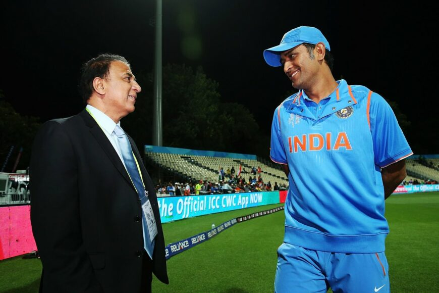 Sunil Gavaskar says MS Dhoni's time is up and team should look beyond him