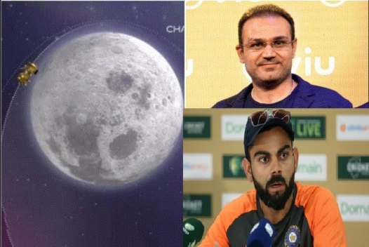 Cricket fraternity salutes the dedication and prowess of ISRO