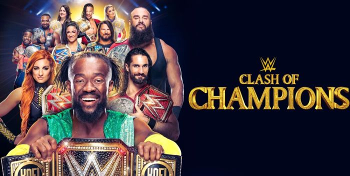 2019 clash of champions results- Rollins vs Strowman