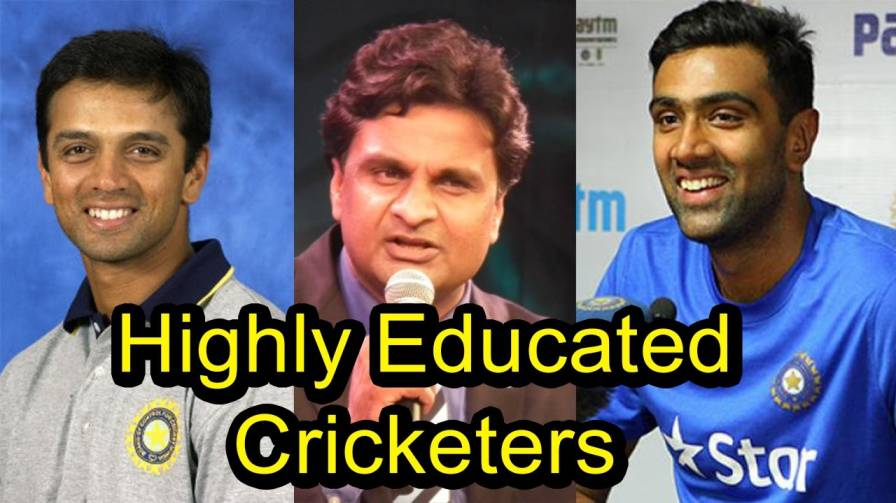 Ten most qualified and educated cricketers of Indian cricket team