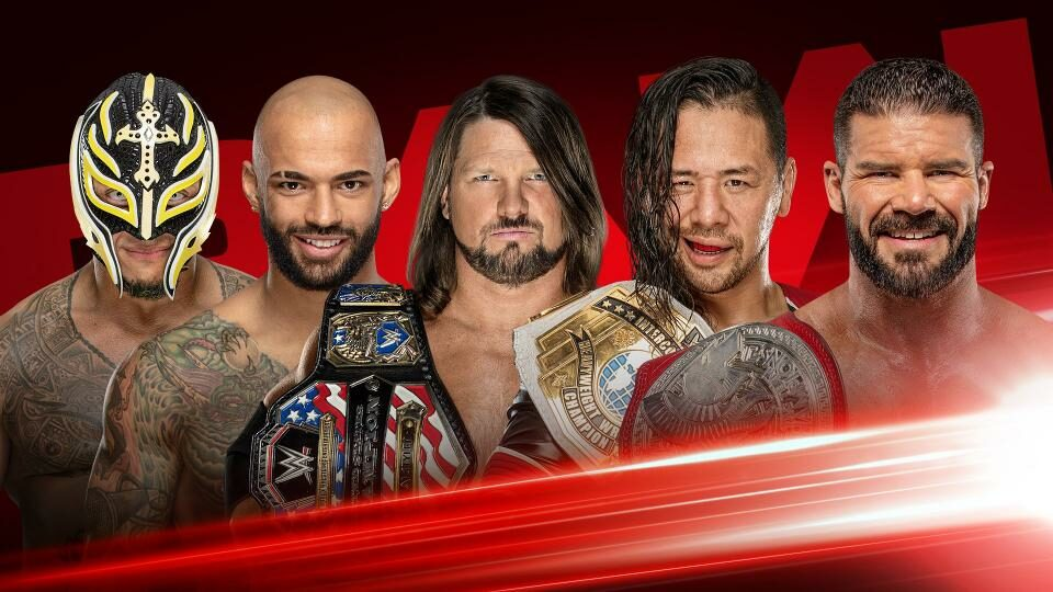 WWE RAW 23 September 2019 (24 September in India, Asia and Europe)