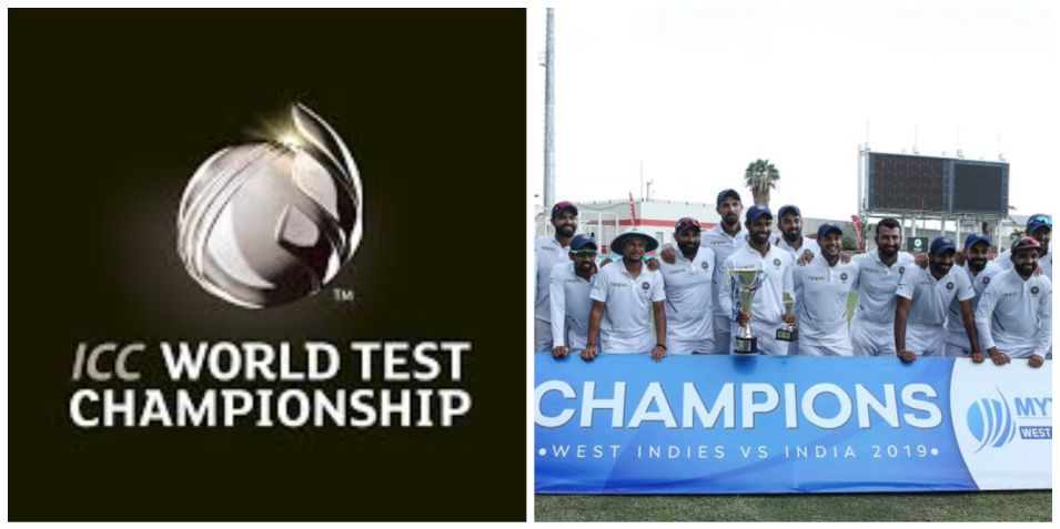 World Test Championship points table after India vs West Indies series