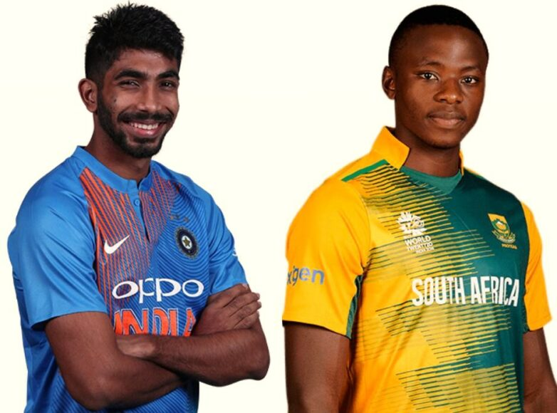 Kagiso Rabada plays mind games with Jasprit Bumrah before T20 series
