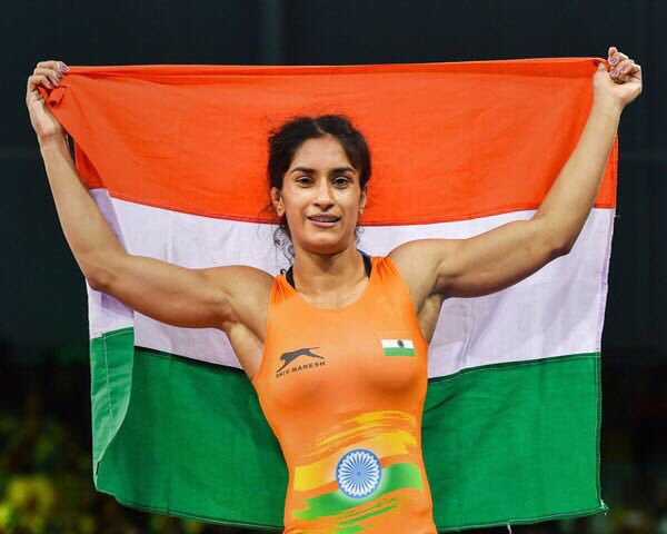 Vinesh Phogat becomes the first woman wrestler to quality for 2020 Tokyo Olympics