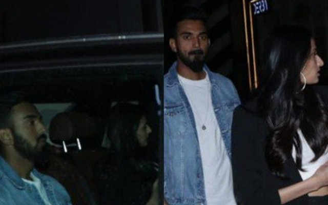 KL Rahul goes on a dinner date with rumoured girlfriend Athiya Shetty