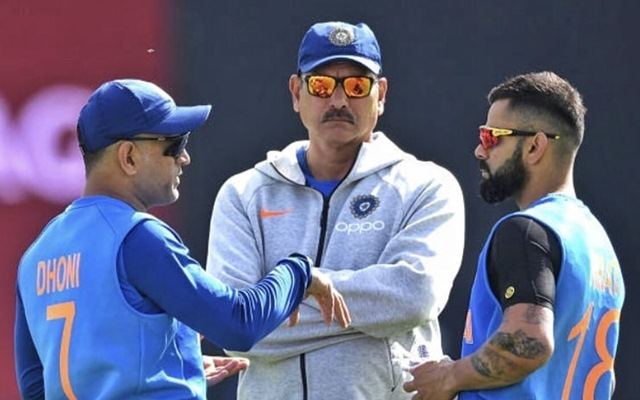 Head coach Ravi Shastri makes a big statement on MS Dhoni's retirement