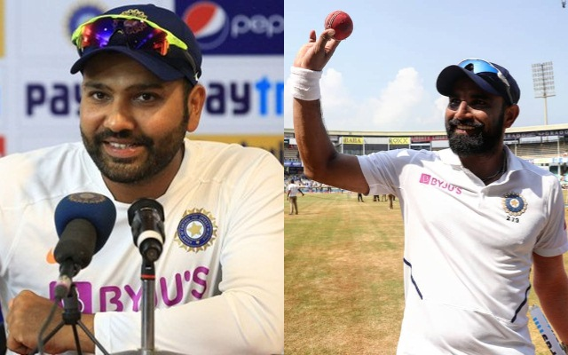 """Biryani"" is the reason for Shami's impressive show: Rohit Sharma"