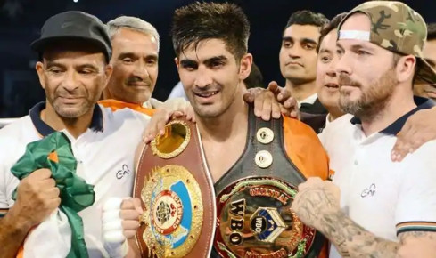Vijender Singh's next professional fight date confirmed