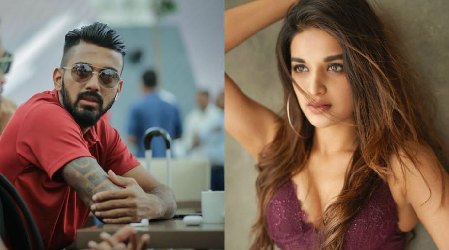 Bollywood actress Nidhhi Agerwal reacts to rumours of dating KL Rahul