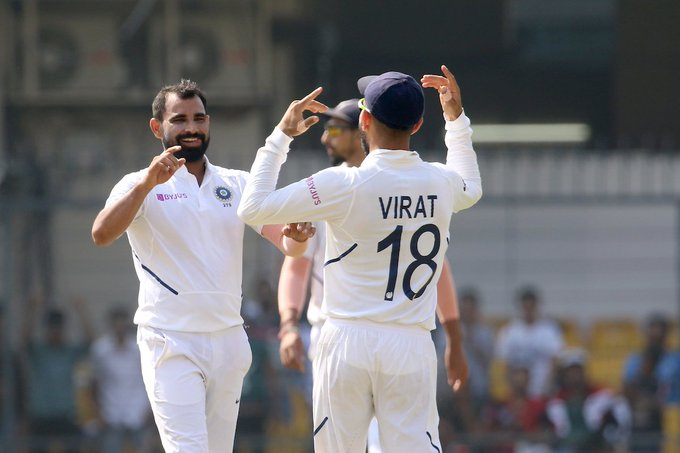 Video: Virat Kohli asked the crowd to cheer for Mohammed Shami, what happens next is interesting