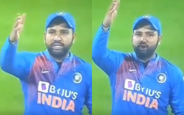 India vs Bangladesh: Rohit Sharma spotted abusing the third umpire