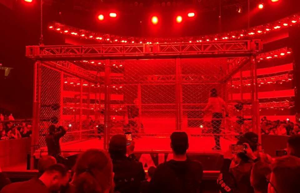 Watch: Seth Rollins and The Fiend wrestled in a steel cage match after RAW went off TV