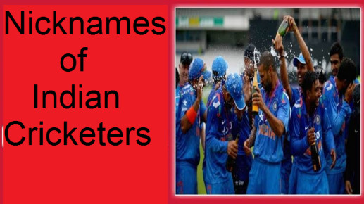 Nicknames of all the Indian cricketers and the story behind them