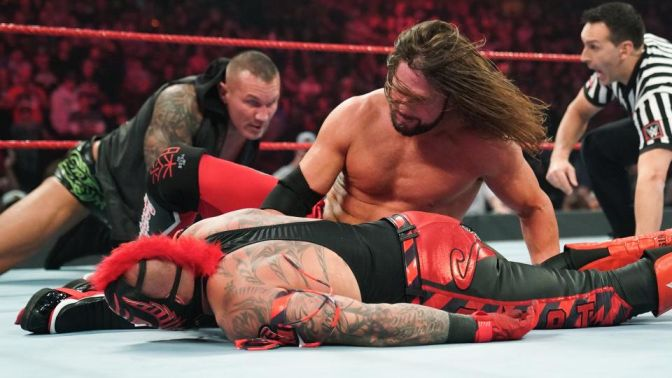 WWE RAW 16 December 2019 results (17 December 2019 in India)
