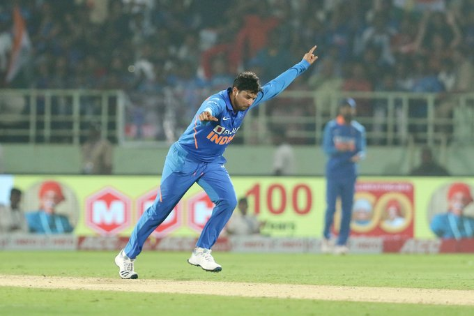 Video: Relive the hattrick of Kuldeep Yadav in the 2nd ODI against West Indies