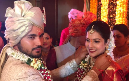 In pics: Manish Pandey gets married to actress Ashrita Shetty