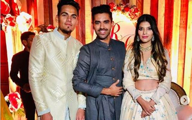 Video: 20-year-old Rahul Chahar gets engaged to his girlfriend