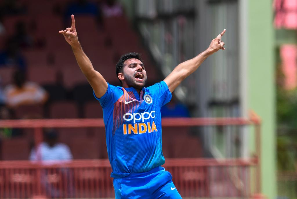 Deepak Chahar ruled out of 3rd ODI against West Indies, replacement named