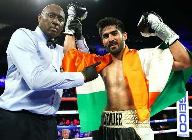 Vijender Singh eyeing world title in super middleweight category