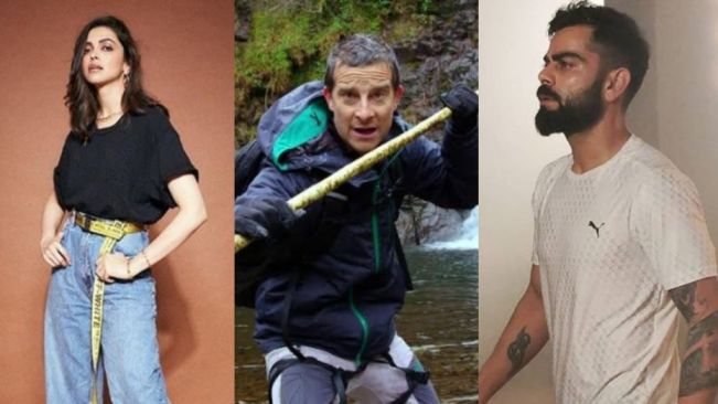 Deepika Padukone and Virat Kohli to shoot Man vs Wild with Bear Grylls