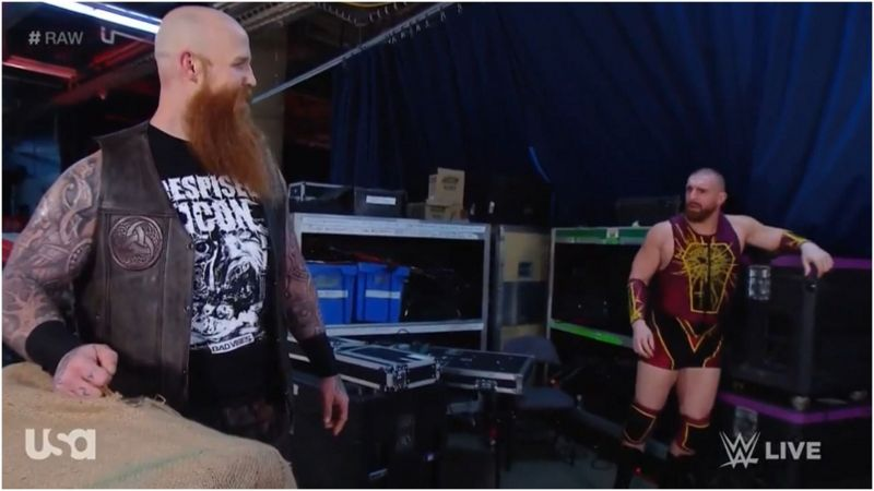 WWE superstar opens up about what he saw when he looked at Erick Rowan's mysterious cage
