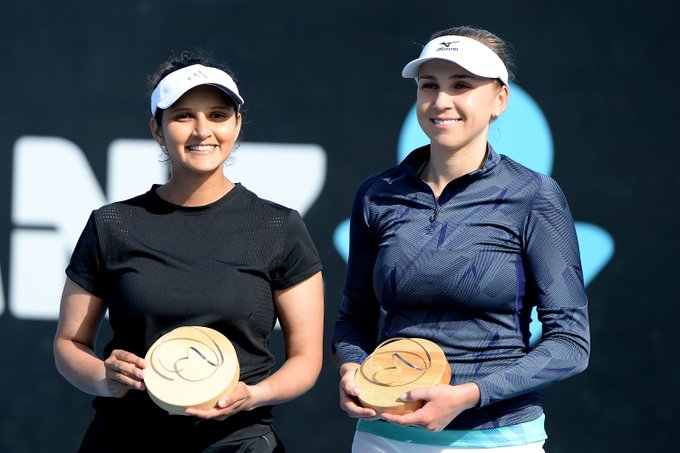 Sania Mirza makes a thunderous comeback after maternal leave, wins Hobart International in women's doubles