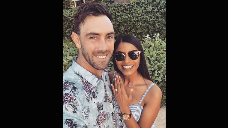 Glenn Maxwell gets engaged to his Indian origin girlfriend