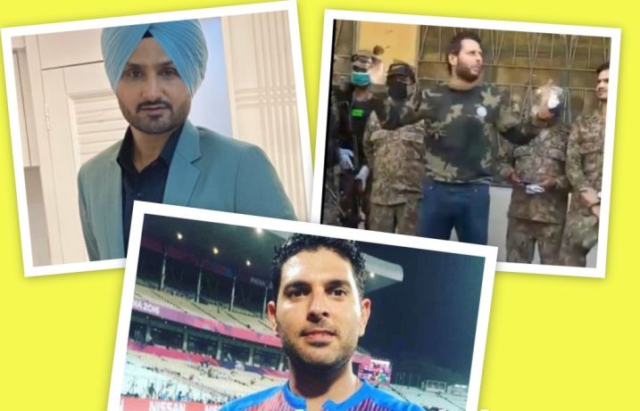 Yuvraj Singh and Harbhajan Singh take a U turn on relation with Shahid Afridi after latter spew venomous words against PM Modi