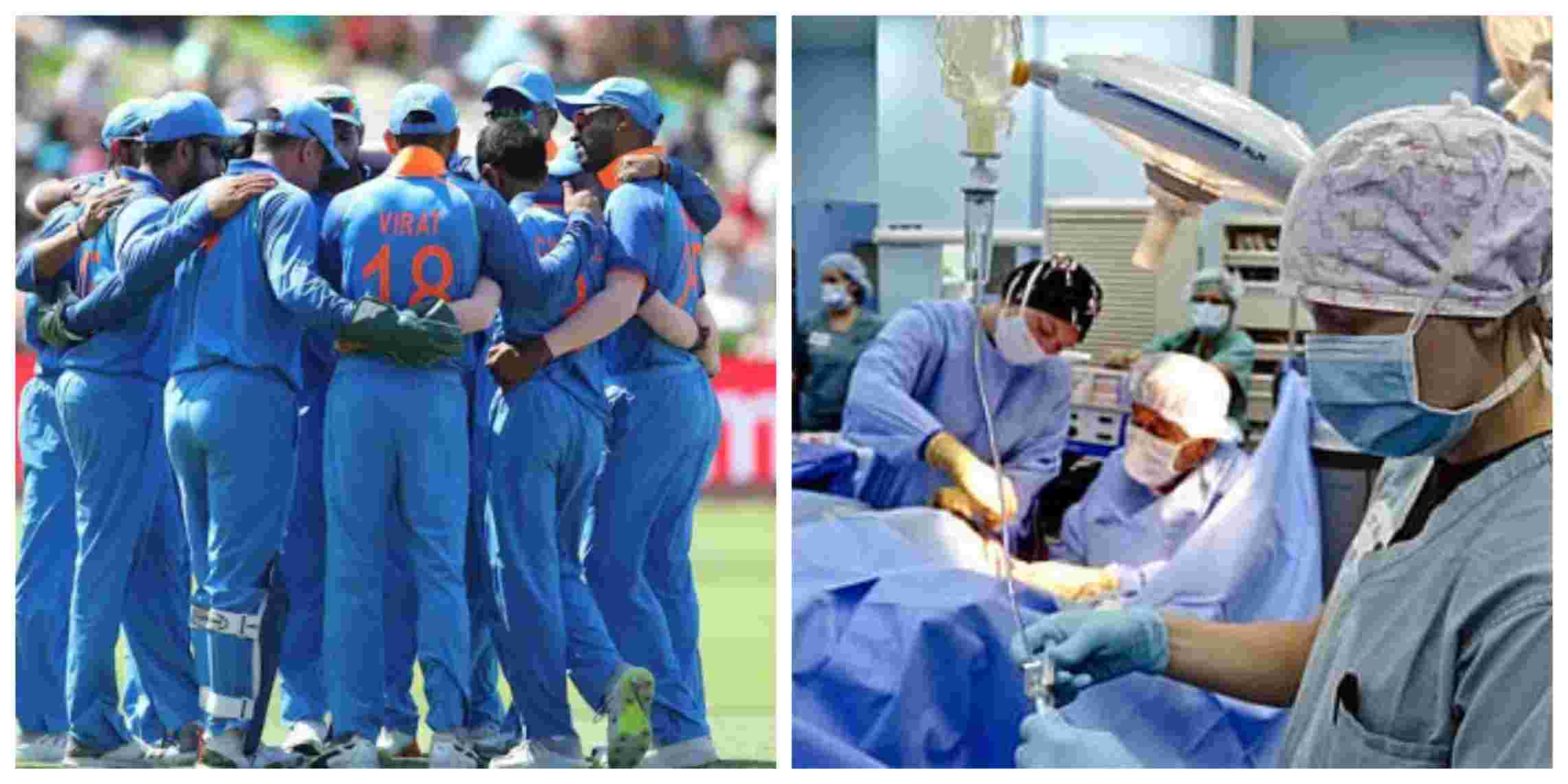 Indian cricket team wish warriors in white on Doctor's day