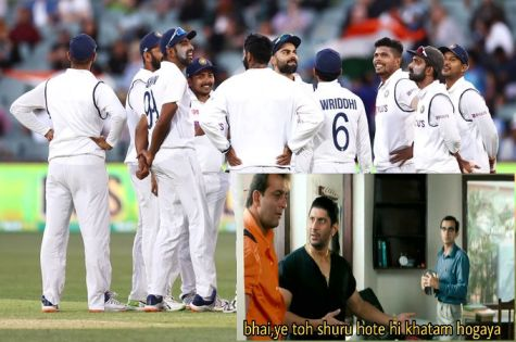 Funny tweets win hearts as India gets bundled out for their second lowest score in test history