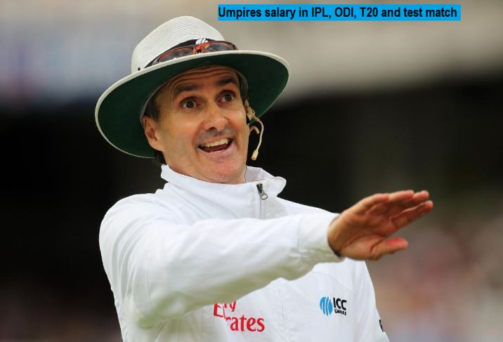 Revealed: Umpires salary and bonus in IPL, ODI, T20 and Test match