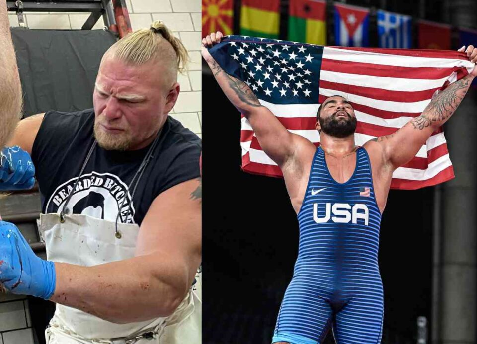 WWE planning to have Olympic champion vs Brock Lesnar match