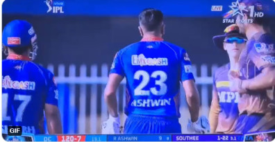 Video: R Ashwin's heated moment with Eoin Morgan after a send off by Tim Southee