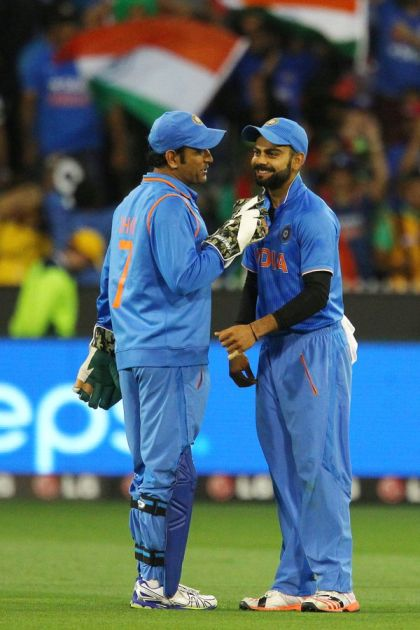 T20CWC: Best reactions as MS Dhoni gets back in national jersey to mentor India